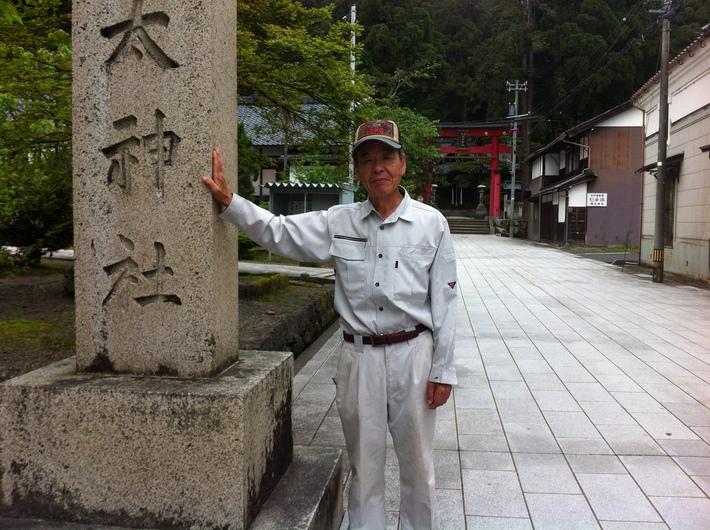 岡太神社 小林勝三