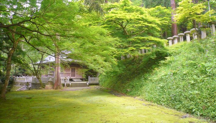 岡太神社と花筐公園
